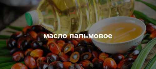 пальмовое масло: вред и польза для человека